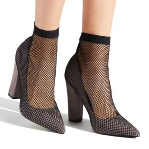 New Fishnet Heels